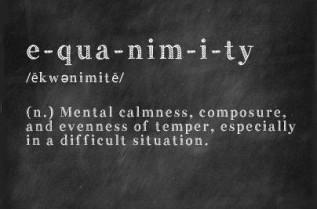 equanimity